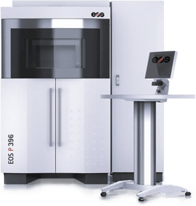 EOS P396 für das SLS-Lasersintern größerer Elemente