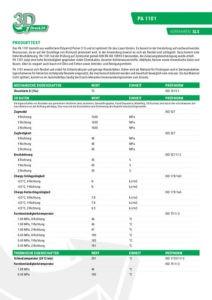 PA1101 Materialdatenblatt